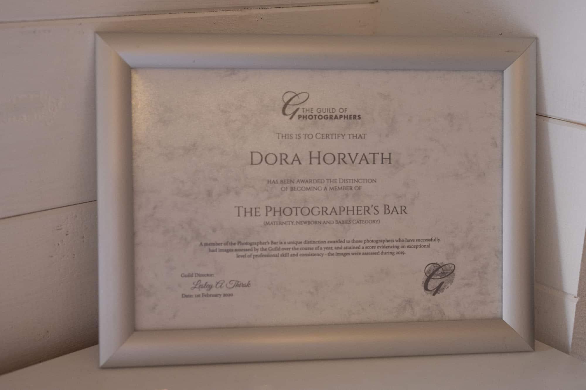 Guild photo award