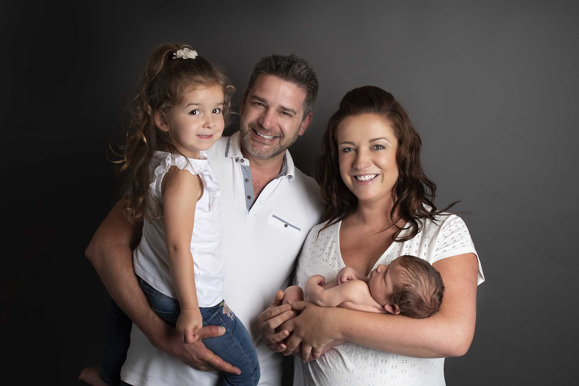 professional family portrait session photographed by family photography Manchester