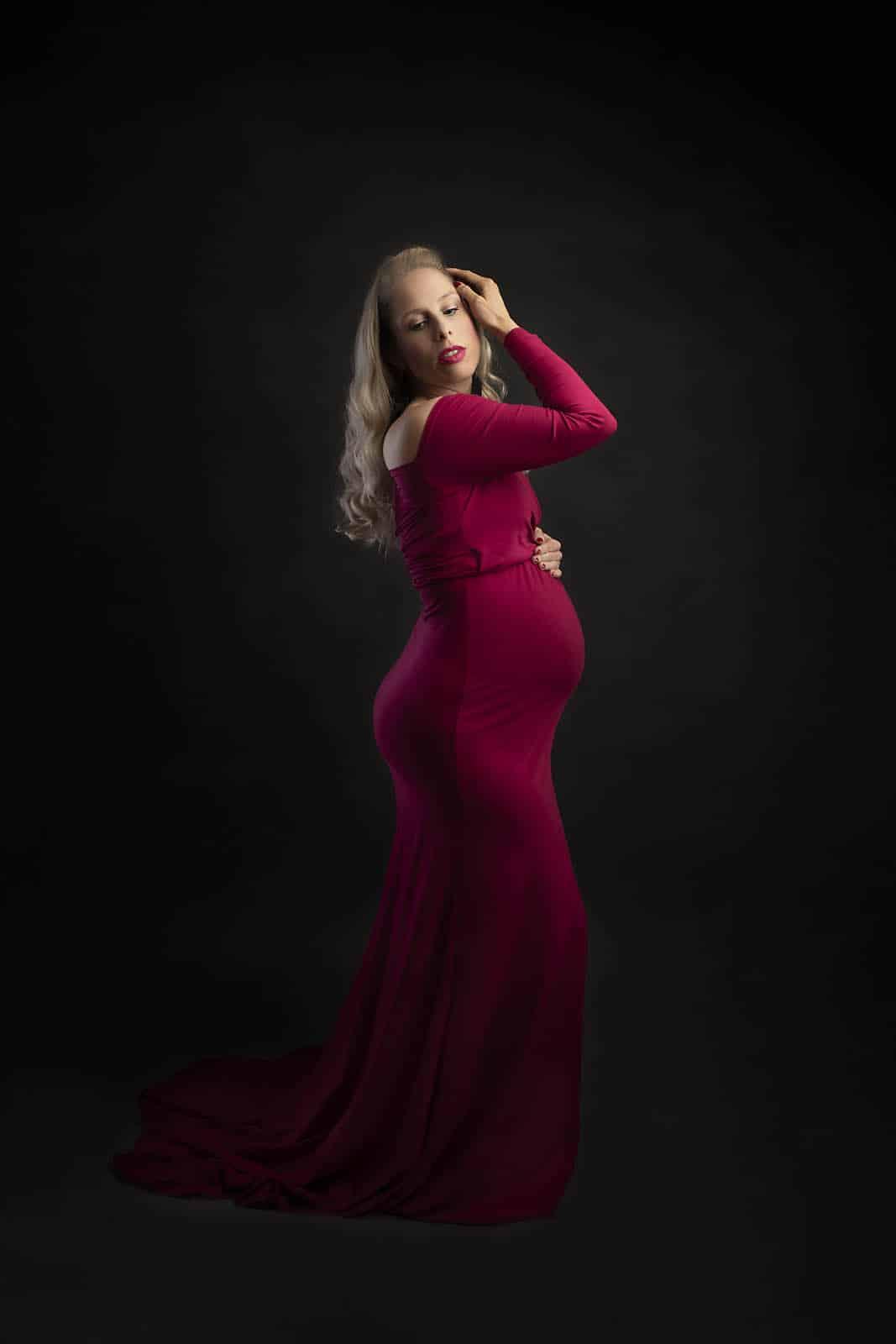 maternity portrait taken by maternity photography manchester