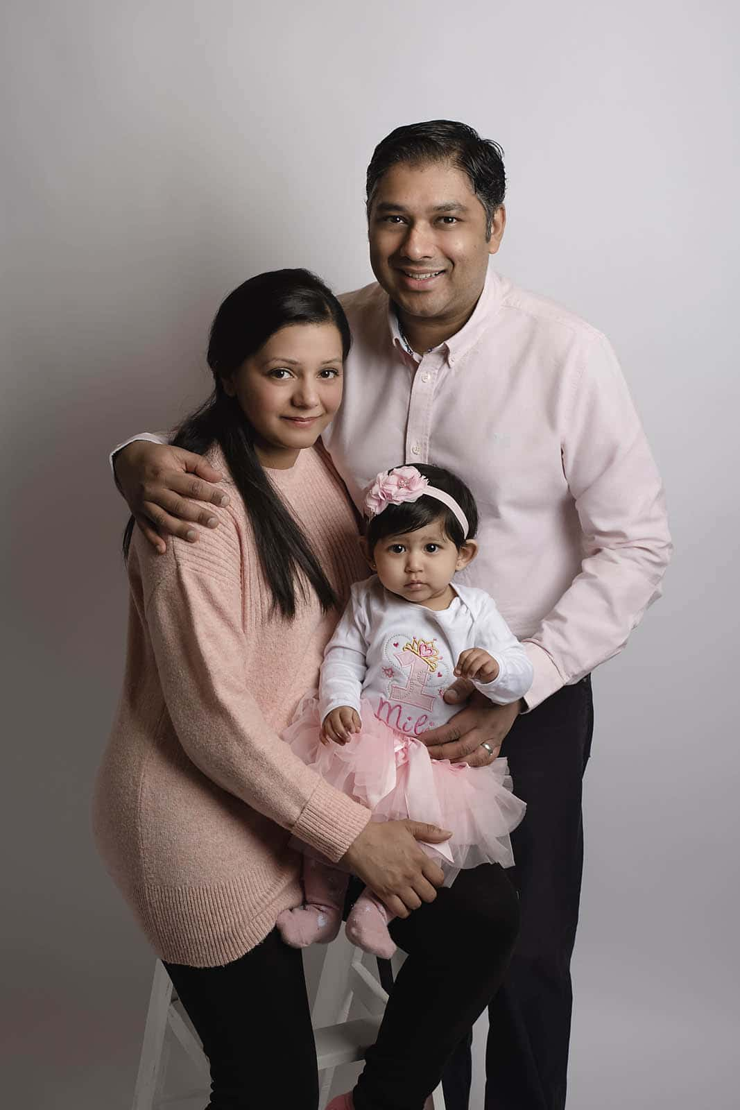 family portrait taken by family photography manchester